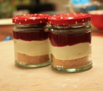 Recipe: Jaime's strawberry & rhubarb cheesecake