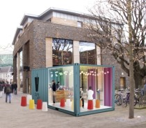 CUPP launch bubble tea shipping container cafe on March 21st