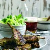 Recipe: Coriander and ginger lamb chops