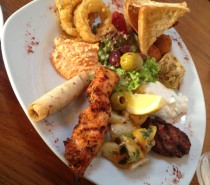 Mezze at The Anchor , Ham Green: Review