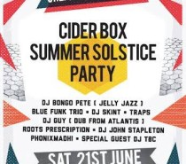 The Cider Box Summer Solstice Party: Saturday, June 21st