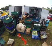 Glastonbury grub redistributed by food charity FareShare South West