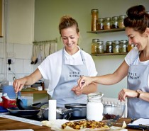 Bristol double-act start Little Kitchen Cookery School but think big