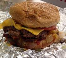 Five Guys Bristol, Cabot Circus: Review