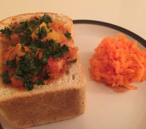 Recipe: Bunny Chow with Carrot Sambal