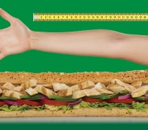 Your arm's length of Subs for £6 at Subway Nailsea this Saturday!