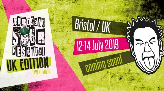 Arrogant Sour Festival comes to Moor Beer this July