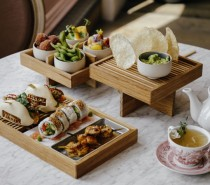 New High Tea menu at The Florist Bristol