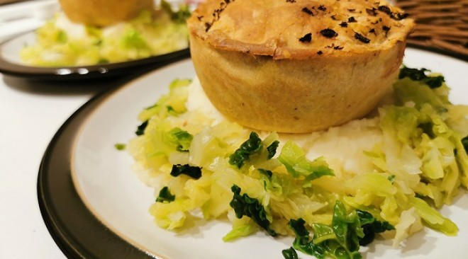 Have you tried the new Evergreen vegan pie from Pieminister?
