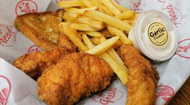 Slim Chickens Bristol, Cabot Circus: Review