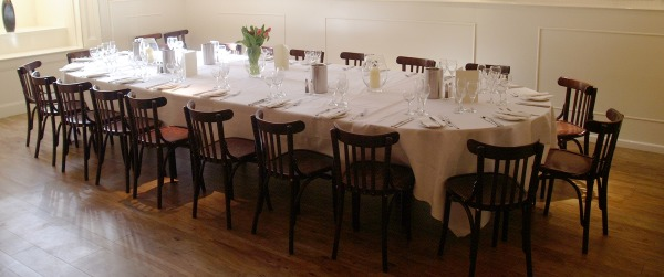 Win a three course meal for two at gloucester road 39 s for Best private dining rooms bristol