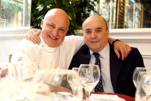 Aldo Zilli with San Carlo Bristol's General Manager Tony DeDominicis