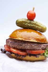The Buckie Burger - recipe courtesy of Martin Blunos and Buckfast Tonic Wine