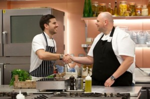 Peter Sanchez-Iglesias with Tom Kerridge