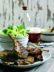 Coriander and ginger lamb chops - recipe courtesy of Gastro Alfresco