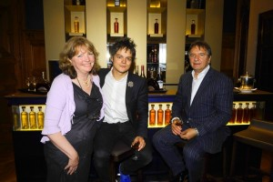 Mary with Jamie Cullum and Raymond Blanc