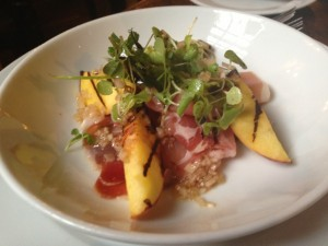 Hotel du Vin - Serrano Ham and Grilled Nectarines