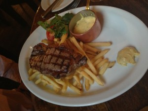 Hotel du Vin - Sirloin Steak