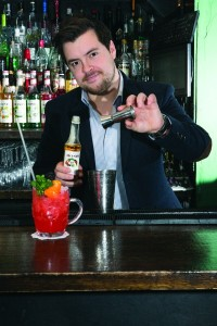 James Coston, Monin's UK brand ambassador