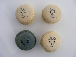 One in four of us are affected by mental illness.  (Macaron photo courtesy of Sarah Newman, Bristol)