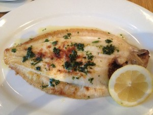Wallfish Bistro - Lemon Sole