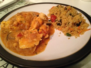 COOK - Moroccan chicken and couscous