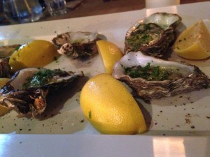 No.1 Harbourside Supper Club - Oysters