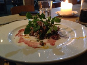 No.1 Harbourside Supper Club - Rabbit Salad