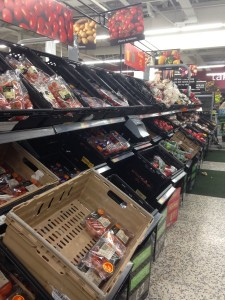 The fruit and veg aisle at Asda, #shop, #cbias, #collectivebias