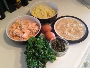 Salmon fish cake ingredients...,  #shop, #cbias, #collectivebias