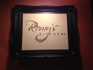 Romy's Kitchen - Sign