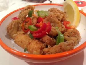 Yo! Sushi - Spicy Pepper Squid