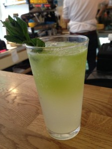 Bakers and Co - Lime, mint, cucumber soda