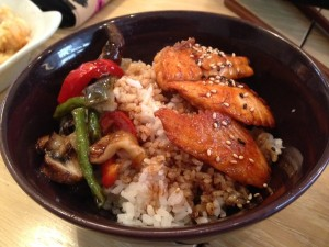 Yume Kitchen - salmon teriyaki