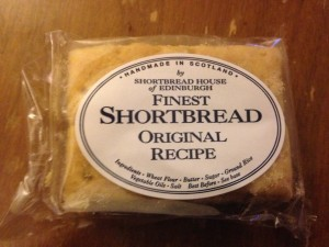 Honest snack box - shortbread