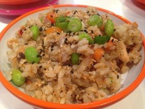 Yo! Sushi - Salmon Firecracker Rice