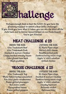 Green Man Food Challenge