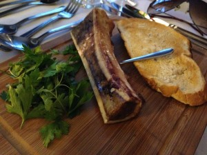Swine Dining, Bank Tavern - Bone Marrow