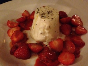 Swine Dining, Bank Tavern - Pannacotta