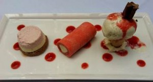 Trio of Iced Summer Puddings