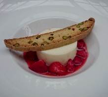 Elderflower & Buttermilk Panna Cotta