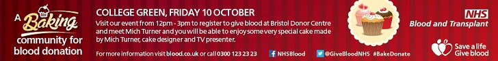Register to give blood at Bristol Donor Centre!