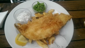 The Shakespeare Redland - Fish and chips
