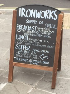 Ironworks Supply Co - Sign