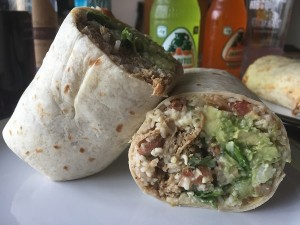 Mission Burrito via Deliveroo - Carnitas Burrito