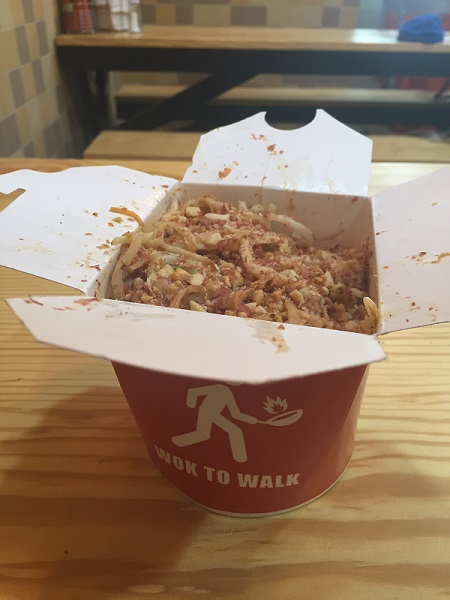 Wok To Walk Park Street - Meal 1
