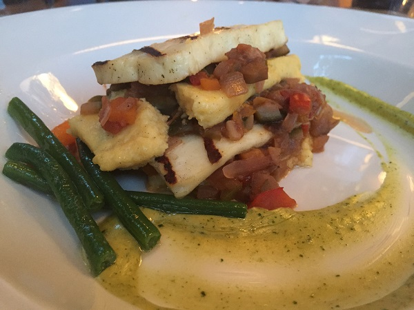 Goldbrick House -  Polenta and Halloumi Lasagne