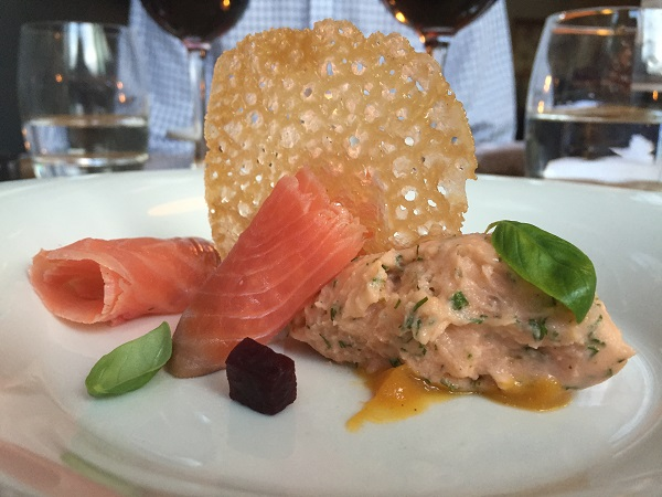 Goldbrick House - Salmon Gravadlax