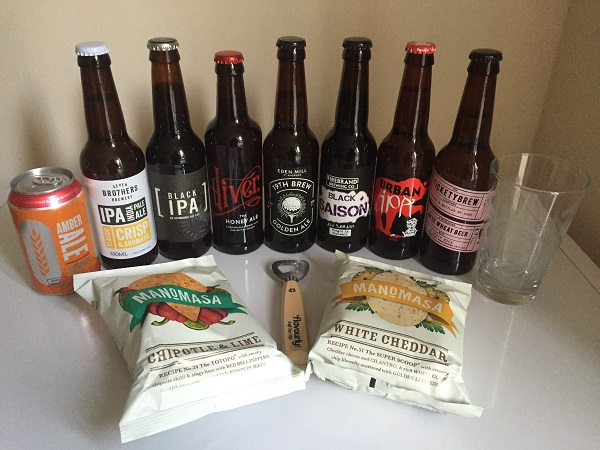 Flavourly Craft Beer Box - Contents