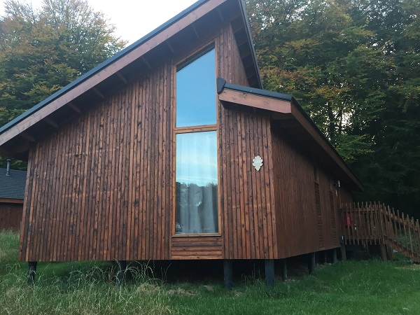 Forest Holidays - Cabin Exterior